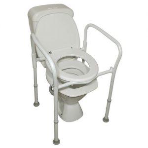 Homecraft Aluminium Folding Over Toilet Aid