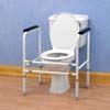 Homecraft Adjustable Height and Width Toilet Surround