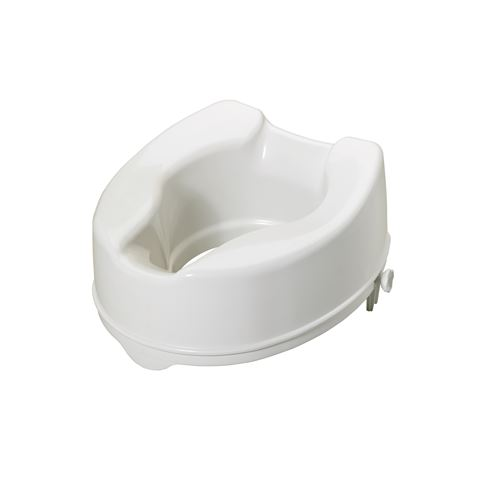 Savanah Raised Toilet Seat, without Lid, 150mm